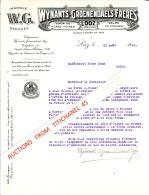 Brief Van 1940 - LOOZ - WYNANTS-GROENENDAELS FRERES - Siroopfabriek - Fabrique De Sirop De Pures Poires, Gelée De Pommes - Belgique