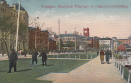 Shanghai.  Bund From Telegraph - To Palace Hotel Building - Chine