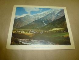 1955  Cliché De Ibarra D´Heilly (27cm X 21cm)    La Haute-Isère Dans Les Alpes Du Nord......envoi Gratuit - Orte