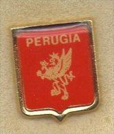 Pq1 Pin Perugia Calcio Distintivi FootBall Soccer Pin Spilla Italy - Football