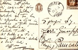 CARTOLINA POSTALE -CENT.30-RIVOLUZIONE FASCISTA-25-8-1934 - Interi Postali