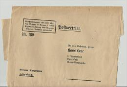 == DE Postsach Streifband - Allemagne