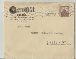 = DE BRIEFE 1940 NACH BERLIN - Böhmen Und Mähren