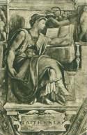 CITTA DEL VATICANO - Cappella Sistina - La Sibilla Eritrea (Michelangelo)  (294-15) - Vatikanstadt