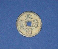 Indochine-Monnaie / Talisman Circulaire En Bronze Pi - Viêt-Nam