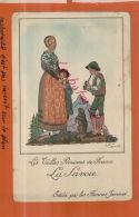 CPA PUBLICITES, Farines Jammet,  Les Vielles Provinces De France,  Jean Droit, LA SAVOIE,   Juil  2013 1469 - Trade Cards