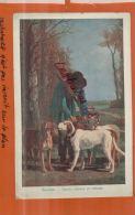 CHROMOS,   Nos Grands Peintres TROYON - Garde De Chasse,   TEMOIGNAGE DE SATISFACTION , ECOLE, Juil  2013 1477 - Alte Papiere