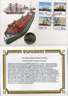 Numisbrief 5/88 Deutschland 1988 Numisletter 5M Plus DDR 3198/1 SST 35€ Schiffer Compagnie Schiff-Fahrt Cover Of Germany - [ 6] 1949-1990 : RDA - Rép. Démo. Allemande