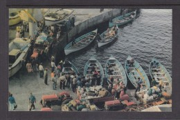 TRISTAN DA CUNHA: BUSY HARBOUR SCENE After Longboats Return From NIGHTINGALE ISLAND - St. Helena