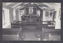 TRISTAN DA CUNHA: INTERIOR OF ST MARYS CHURCH - Saint Helena Island