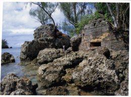 (987) Island Of Guam - Apaca Point Pill Box - Guam
