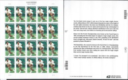 USA. Scott # 4803 MNH Sheet Of 20. Althea Gibson. 2013 - Fogli Completi