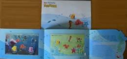 Folio 2008 Nemo Cartoon Stamps S/s Movie Fish Sea Horse Turtle Octopus Ocean Shrimp - Marine Life
