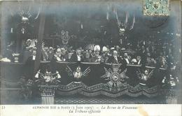 LE ROI ALPHONSE XIII A PARIS LA REVUE DE VINCENNES LA TRIBUNE OFFICIELLE - Royal Families