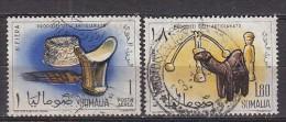 D0144 - SOMALIE SOMALIA AERIENNE Yv N°15/16 ARTISANAT - Somalie (1960-...)