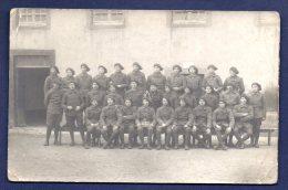 Carte-photo. Chasseurs Alpins Du 15ème Bataillon - Régiments
