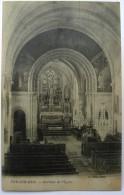 14 : Ver-sur-Mer -  Intérieur De L'Eglise - Plan Inhabituel - (n°473) - Autres Communes