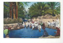 CPA Afrique Algerie Jette Un Sous Dans L'eau N°595 - Algérie