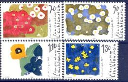 ##Liechtenstein 1996. F. Gehr. Paintings. Peintures. Gemälde. Michel 1132-35. MNH(**). - Liechtenstein