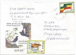 Ethiopia 2001 Diera Rock Hyrax Endemic Mammal Cover - Ethiopië