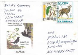 Ethiopia 2001 Gore Spices Herbs Bushbuck Antilope Cover - Ethiopië