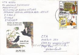Ethiopia 2000 Gidole Agriculture Hoe Tree Fruit Flower Cover - Ethiopië