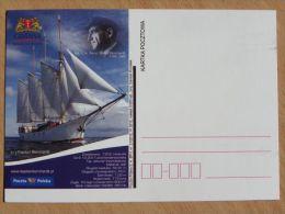 S/Y Kapitan Burchardt  / Polish Ship / Carte Postale - Voiliers