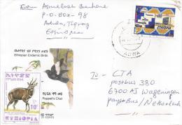 Ethiopia 2001 Adwa EMS Post Service Cover - Ethiopië