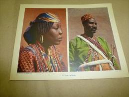 Photo Lebeuf En 1954  (27cm X 21cm)   Types D´ INDIGENES    Envoi Gratuit - Ethniques, Cultures