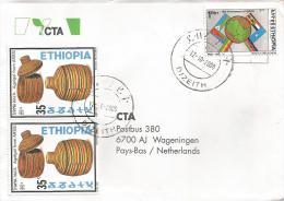 Ethiopia 2000 Dizeith Cooperation Baskets Cover - Ethiopië