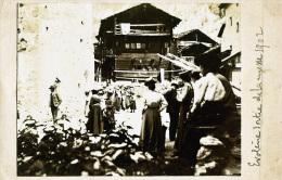 EVOLENE - Sortie De La Messe En 1902 - VS Valais