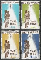 Botswana. 1969 Christmas. MH Complete Set - Botswana (1966-...)