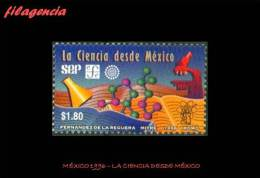 AMERICA. MÉXICO MINT. 1996 LA CIENCIA EN MÉXICO - Mexique