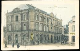 10 ROMILLY SUR SEINE / Hôtel De Ville /  BELLE CARTE COULEUR - Romilly-sur-Seine
