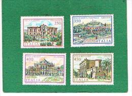 ITALIA REPUBBLICA - UNIF. 1701.1704 - 1984 VILLE D' ITALIA - NUOVI **(MINT) - 6. 1946-.. Repubblica