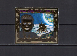 Comoro Islands - Comores 1976 US Bicentennial, JFK Kennedy Gold Stamp MNH - Africa