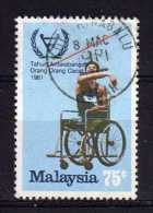 Malaysia - 1981 - 75 Cents International Year Of Disabled Persons - Used - Malaysia (1964-...)