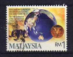 Malaysia - 1996 - $1 14th Conference Of CAPA - Used - Malaysia (1964-...)