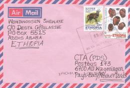 Ethiopia 2005 Buta Hair Style Coiffure Heads Cover - Ethiopië