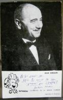 Publicité SPIROU Et Photo Et Autographe De Jean NOHAIN - Spirou Et Fantasio