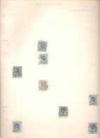 SWEDEN SUEDE SUECIA - MATASELLOS AMBULANTES 1880 AMBULANTS RARES NRO. 7 - Sweden