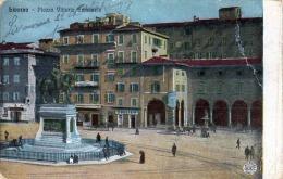 LIVORNO (Italie) - Piazza Vittorio Emanuele - 1900 - Alterocca Terni (Italie) - Livorno