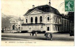 74  ANNECY  LE THEATRE ET LE CASINO - Annecy