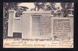 IDN-67 BATAVIA MONUMENT VAN PIETER ERBERVELD - Indonesia