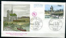 FDC 4/2/78 : Oeuvre Originale De Buffet - Geografia