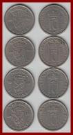 NORWEGEN 1 Kronen 1951 - 54 - 55 - 57 - Norwegen