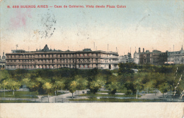 BUENOS AIRES - 1911 , Gouverneurspalast