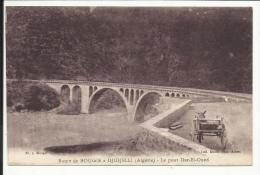 Route De BOUGIE à DJIDJELLI ( Algérie ) , Le Pont Dar-El-Oued - Bejaia (Bougie)