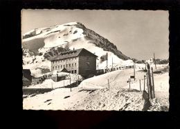 COL DU PUYMORENS Pyrénées Orientales 66 : Le Grand Hotel Du Col Sous La Neige  1956 - France