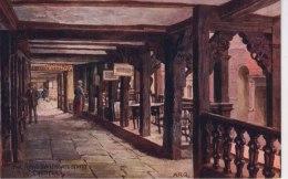 A R QUINTON 1243 -  THE ROWS, WATERGATE STREET, CHESTER - Quinton, AR